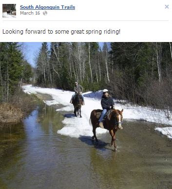 ontario horse trails