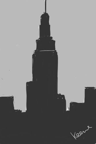 Empire State Bldg. (iPhone sketch)