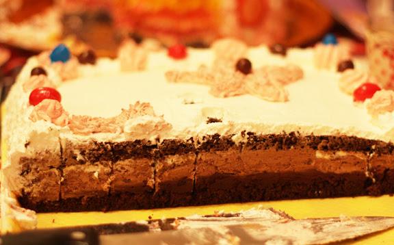 Marta 11 BD party cake