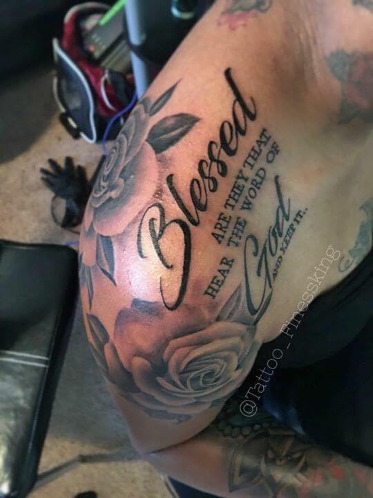 I Trust In God Tattoo For Men Arms Creativehobbystore