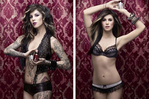 Kat Von D Without Tattoos Kat Von D Majorly Photoshopped