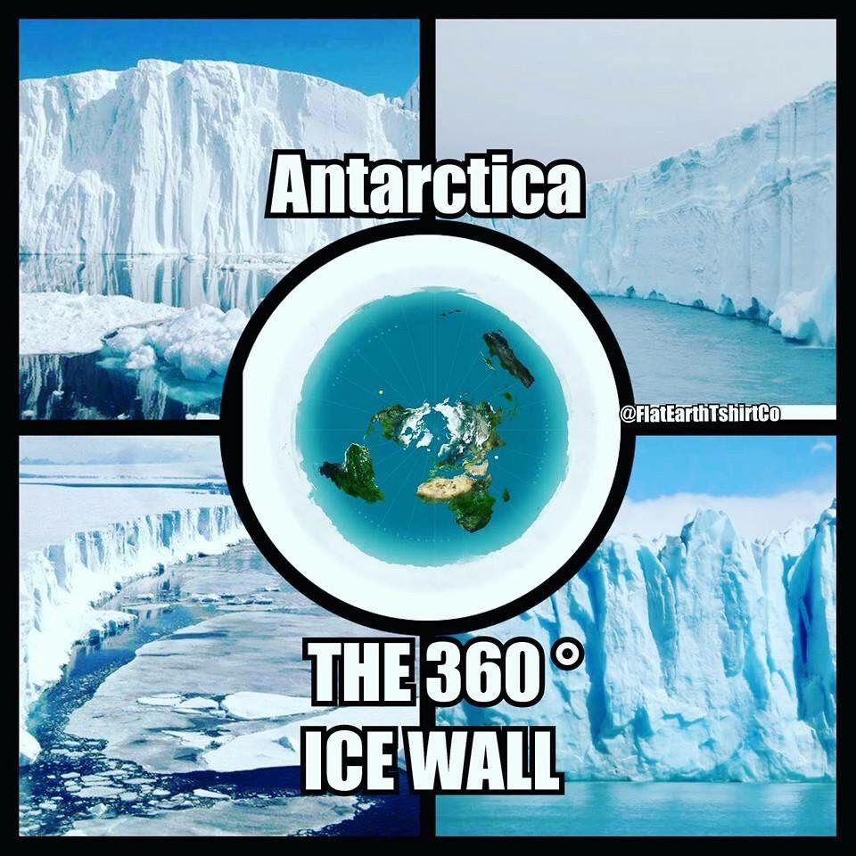 Slikovni rezultat za antarktika flat earth