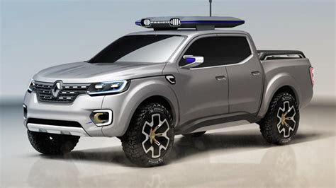 alaskan  renaults posh pickup concept top gear