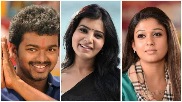 Income Tax raids Vijay, Samantha and Nayanthara belongings