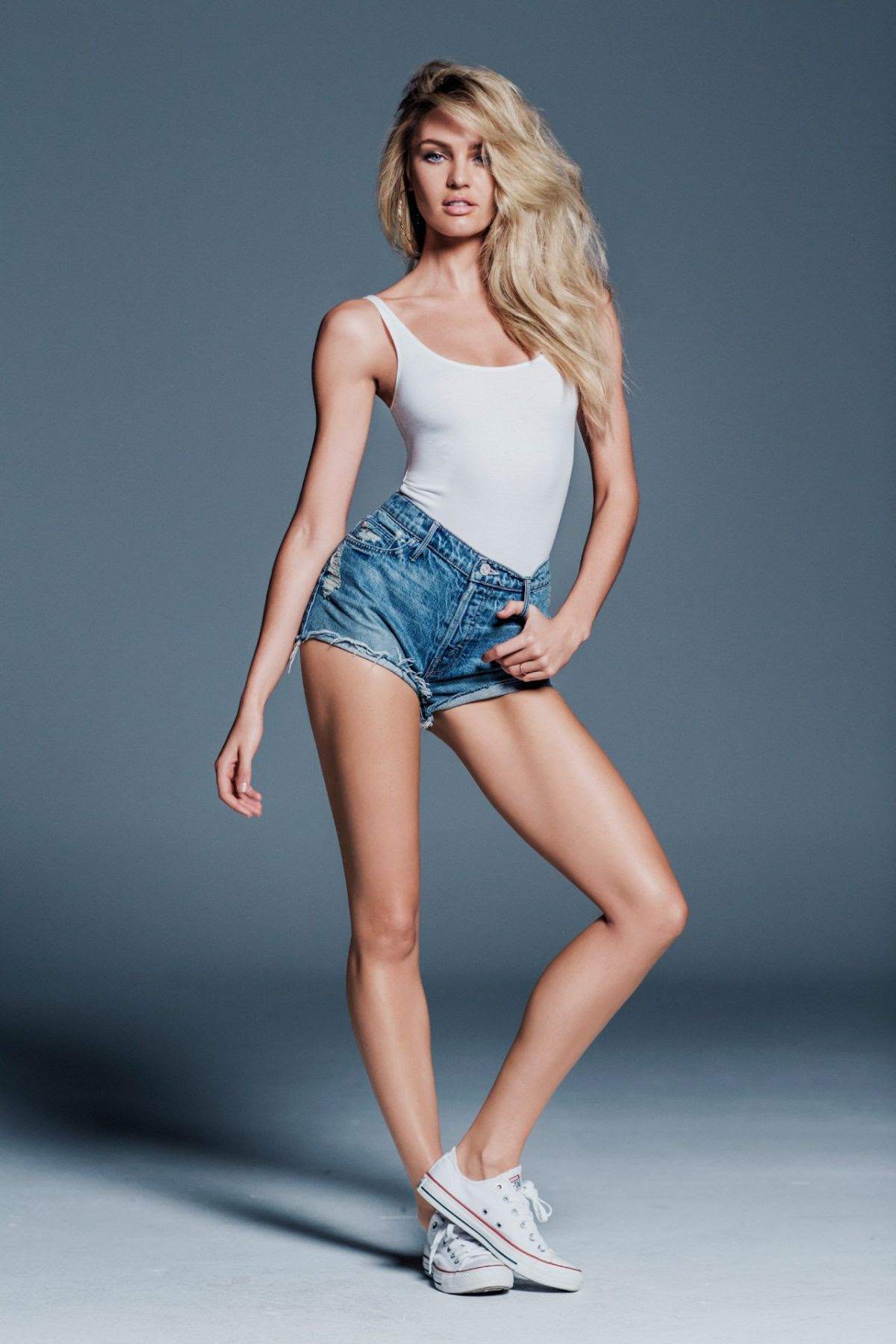 CANDICE SWANEPOEL - Mother Denim 2015 Promos