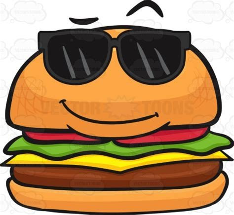 Cartoon Hamburger Wallpaper   WallpaperSafari