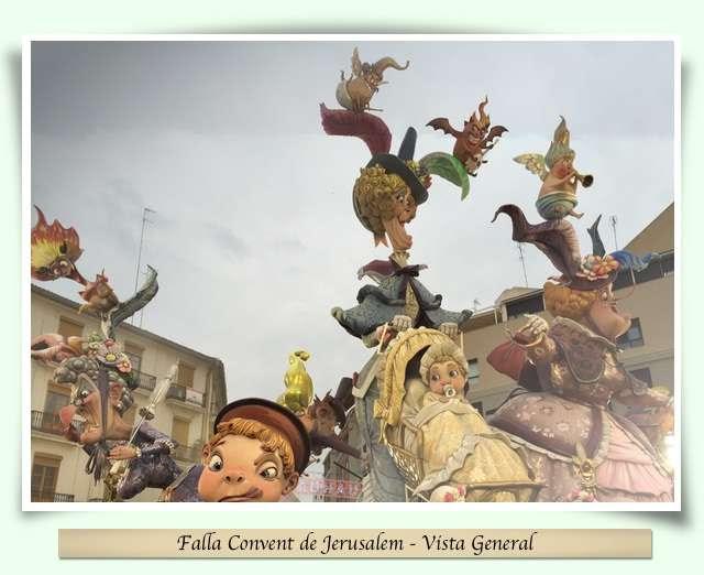 Falla Convent de Jerusalem