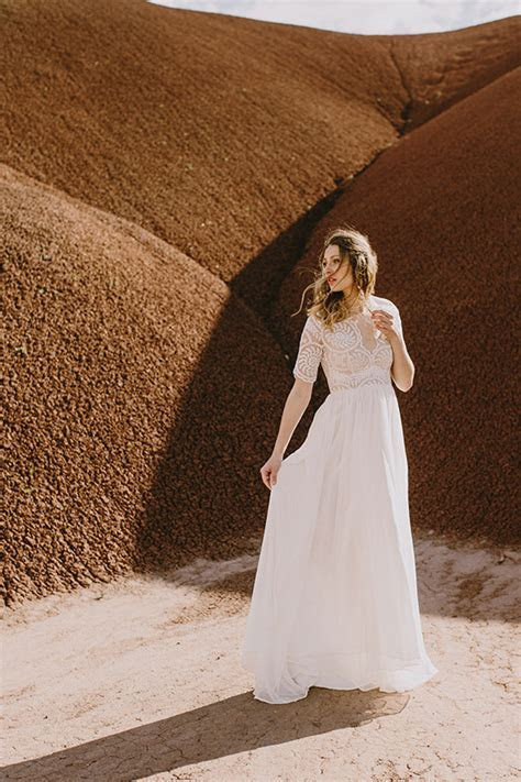 Elizabeth Dye Wedding Dresses 2016 Collection   Deer Pearl