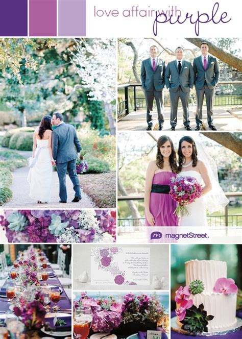 Purple Wedding Ideas and InspirationPurple Wedding Ideas