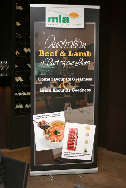 Meat & Livestock Australia held a food tasting session at Sage The Restaurant, featuring recipes created by Chef Jusman So