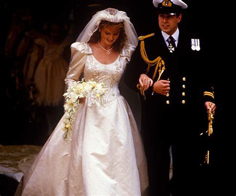 Sarah Ferguson and Prince Andrew's wedding: A