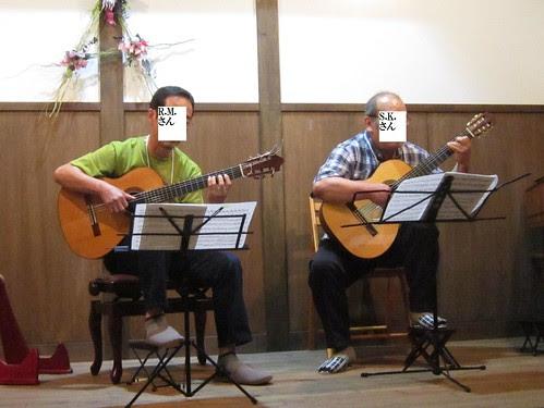 R.M.さんS.K.さんの二重奏 2012年7月14日 by Poran111