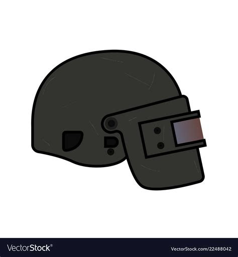 gambar helm pubg level  animasi
