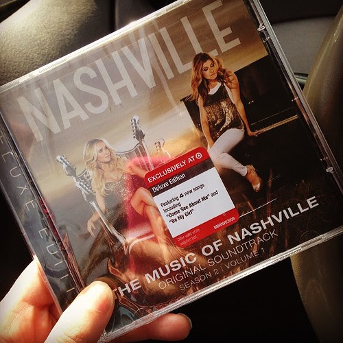 Finally picked up the newest Nashville cd