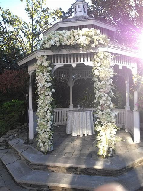 Wedding Arbor Decoration Ideas   Custom Florals   Chuppahs