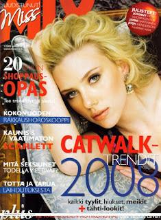 Scarlett Johansson Does Miss Mix Magazine Pictures