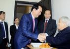Chủ tịch nước chúc thọ nguyên Tổng bí thư Đỗ Mười tròn 100 tuổi