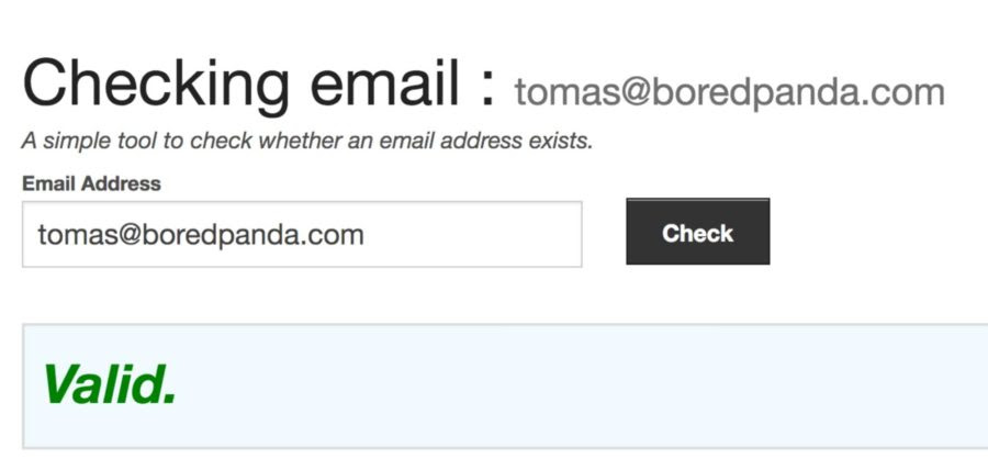 Email Checker - Find Email Addresses