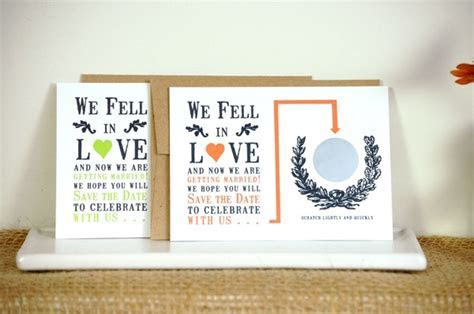 How To Make Scratch Off Save The Date Cards For Your Wedding