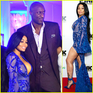 Blac Chyna Buddies Up with Lamar Odom, Reunites with Ex Tyga at iGo.Live Launch Party!