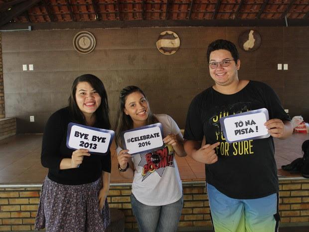Jovens evangélicos preferem comemorar a virada do ano com festa diferente (Foto: Wenner Tito)