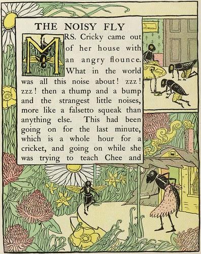 The Noisy Fly