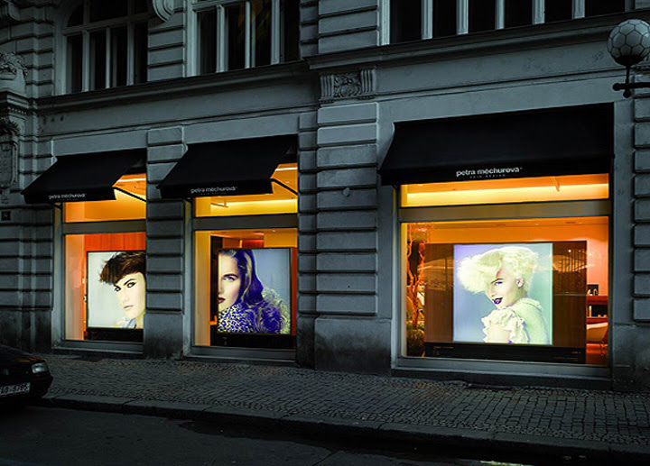 Petra Mechurova Hair Salon, Prague » Retail Design Blog