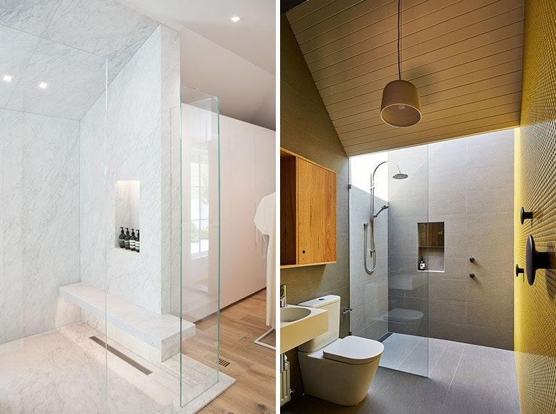 Cool Wall Bathroom Niche Ideas wallpaper