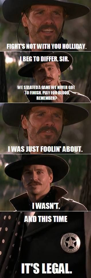 Quotes From Tombstone Johnny Ringo. QuotesGram