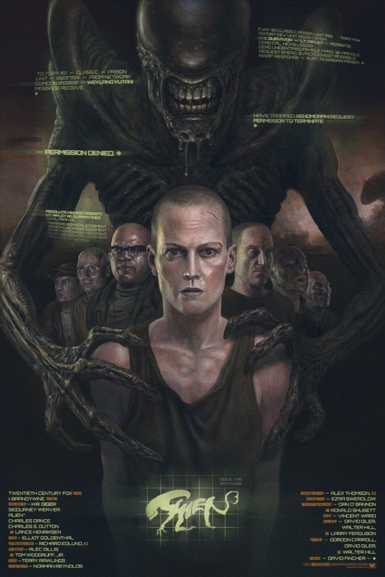 "Alien 3 ""Part of the Family"" by John Barry Ballaran"