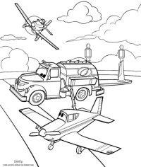 Planes Coloriage à Imprimer Coloriage Planes Bulldog Imprimer