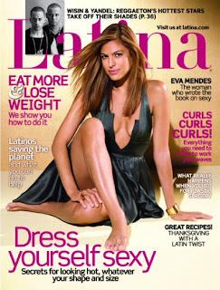 Eva Mendes In Latina Magazine Pictures
