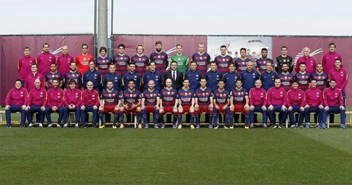 foto oficial Barcelona