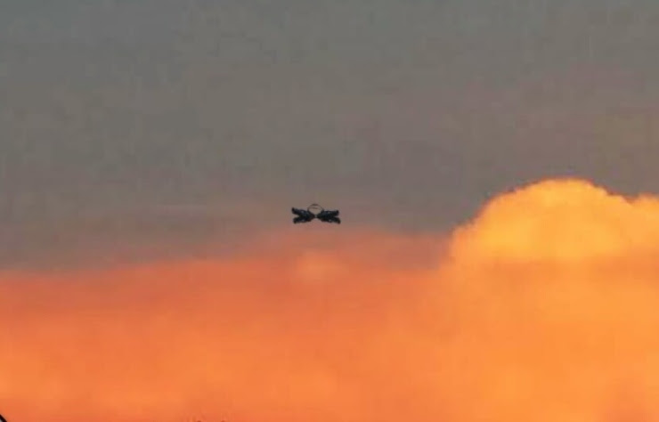 Flying Object Drops from Sky, Stops Dead in Florida: Pictures Taken