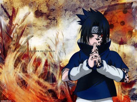 Sasuke Naruto Shippuden HD Image Wallpaper for Android