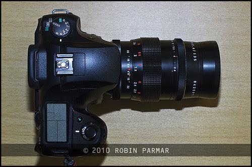 Pentacon 135mm f/2.8 preset (top)