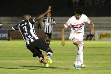 Botafogo-SP x ABC - Tiago Marques - Léo Fortunato (Foto: Rogério Moroti/Agência Botafogo)