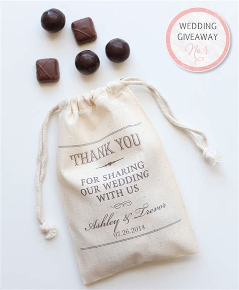 Wedding Giveaway   Win Favor Bags And $350 From Truffle