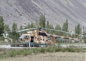 Pakistan Army aviation squadron's Mil Mi-17 he...