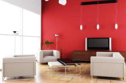 Red Accent Wall - Paint ideas