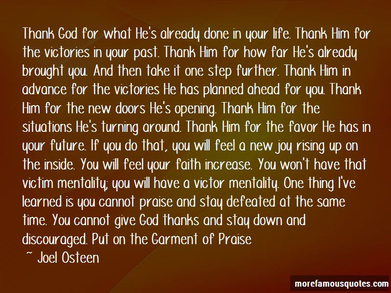 Thank You God For Your Favor Quotes Top 3 Quotes About Thank You