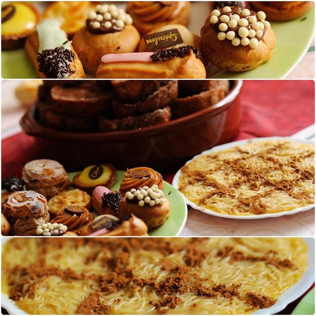 Noël 2012, pain perdu, gâteaux, aletria