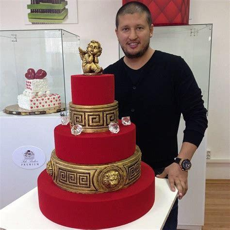 Stunning Red Versace #Cake #RenatAgzanov ??? ???? ????????