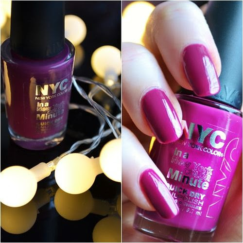 NYC nail polish Wild with Passion