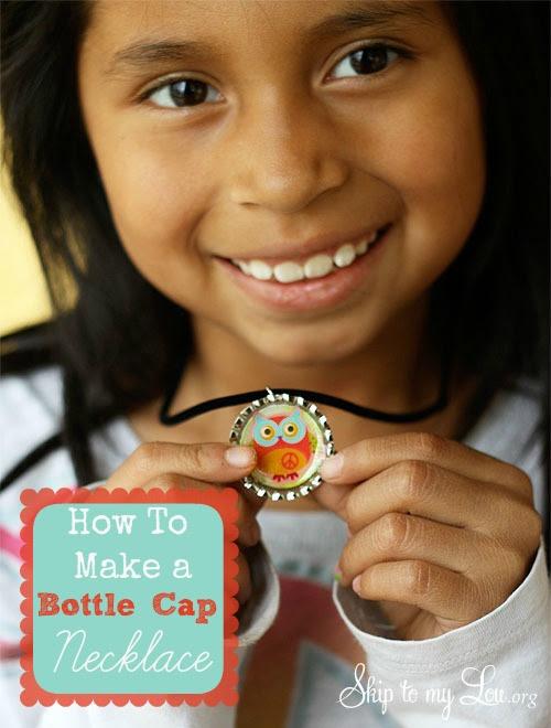 bottle camp necklace