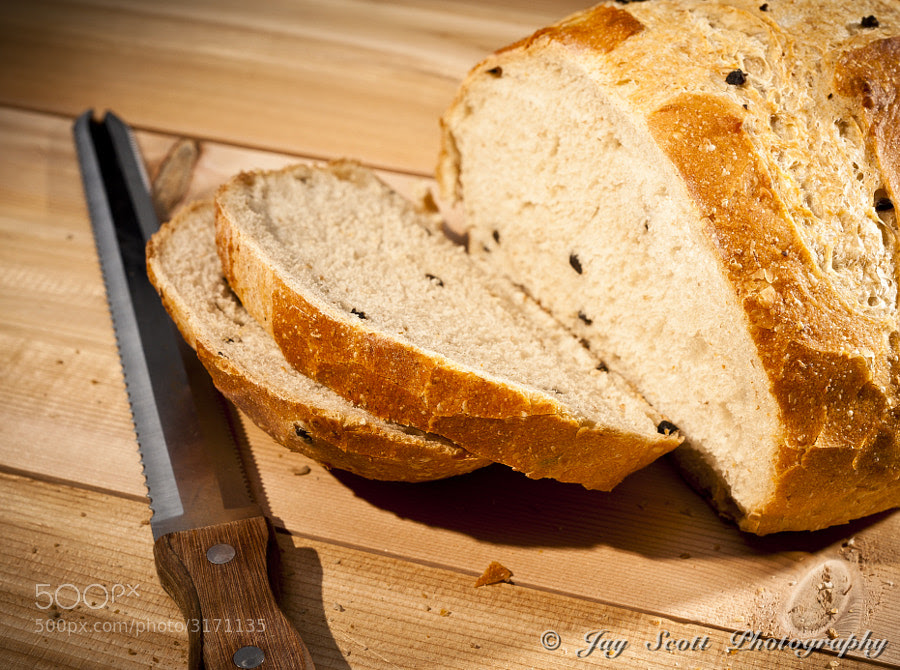 Olive Sourdough Bread by Jay Scott (jayscottphotography) on 500px.com