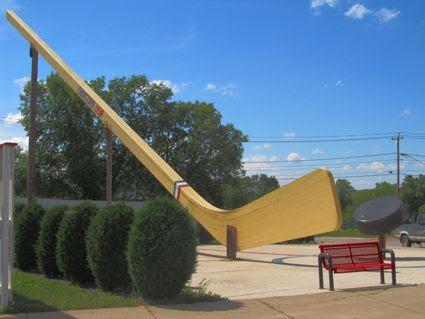 World's Largest Hockey Stick