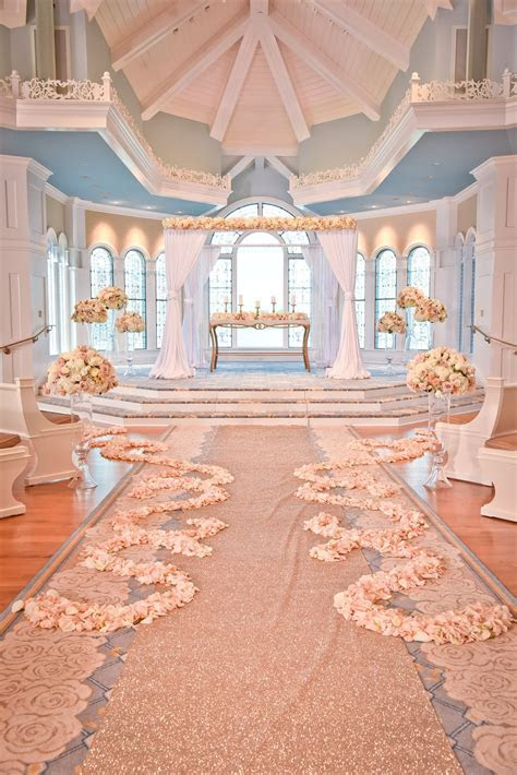 Decor look from the Disney's Fairy Tale Weddings TV Show