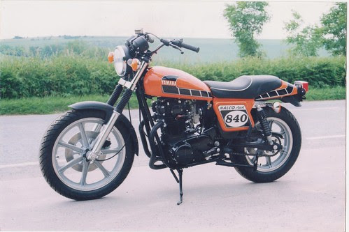 halco ascot flattracker kit based on xs 650 1978 custom by porkchob13
