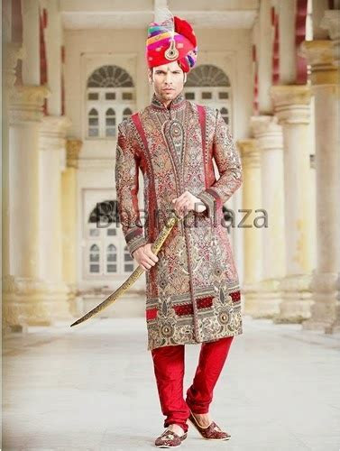 New Sherwani Designs for Groom 2014 2015   Embroidered